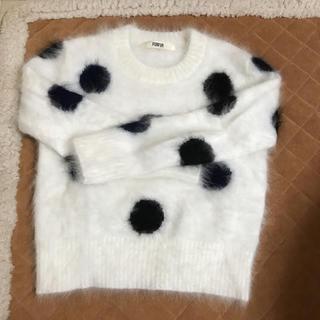 ファーファー(fur fur)のファーファー アンゴラニット(ニット/セーター)