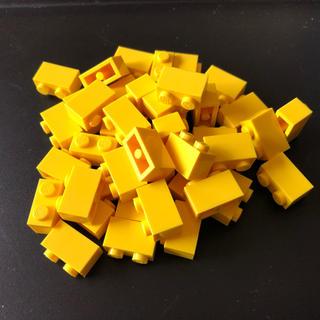 レゴ(Lego)のレゴ 1×2 ブロック イエロー 大量40個(積み木/ブロック)