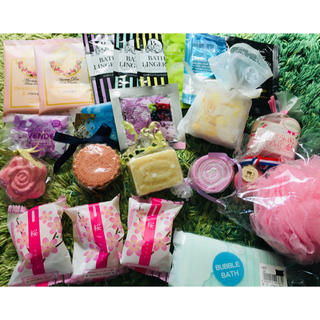 入浴剤 石鹸 バスセット24個(入浴剤/バスソルト)