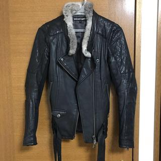 ゴーサンゴーイチプーラファム(5351 POUR LES FEMMES)の5351プーラファム♥︎⃛ラム皮ライダースジャケット(ライダースジャケット)