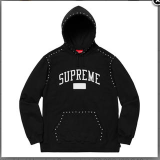 シュプリーム(Supreme)のSupreme 18aw studded hooded sweatshirt(パーカー)