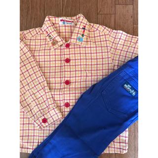 ミキハウス(mikihouse)のミキハウス 長袖シャツ&パンツ(Tシャツ/カットソー)