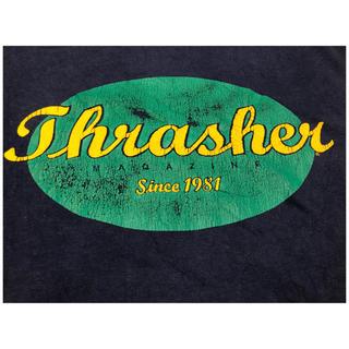 スラッシャー(THRASHER)の超希少!Thrasher 80s Vintage L/S Tee HANESタグ(Tシャツ/カットソー(七分/長袖))