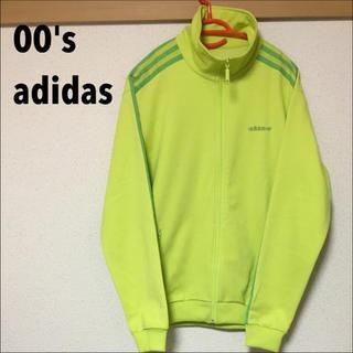 アディダス(adidas)の【00's】adidas 復刻ジャージ レアカラー 黄緑(ジャージ)