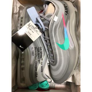 ナイキ(NIKE)の【超稀少】NIKE  OFFWHITE AIR MAX 97 grey(スニーカー)