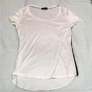 アイシービー(ICB)のiCB レース付Tシャツ S(Tシャツ(半袖/袖なし))