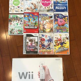ウィー(Wii)のWill本体とソフト(家庭用ゲーム本体)