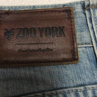 ズーヨーク(ZOO YORK)のZOOYORKのジーパン TIME-R,GENUINE JEANSノジーパん(デニム/ジーンズ)