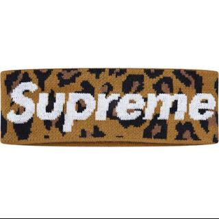 シュプリーム(Supreme)のヒョウ柄 Supreme New Era Big Logo Headband(その他)