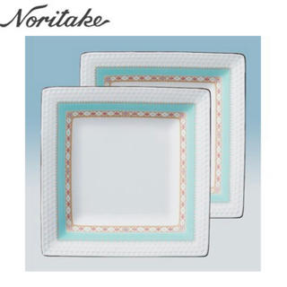 ノリタケ(Noritake)のノリタケのお皿 2枚セット 新品未使用(食器)