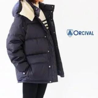 オーシバル(ORCIVAL)のオーチバル ダウンジャケット ネイビー サイズ1 新品(ダウンジャケット)