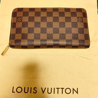 ルイヴィトン(LOUIS VUITTON)のルイヴィトン ダミエ柄ジッピーオーガナイザー(長財布)