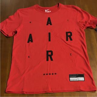 ナイキ(NIKE)のナイキ Tシャツ 赤 Mサイズ 送料無料(Tシャツ/カットソー(半袖/袖なし))
