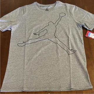 ナイキ(NIKE)のジョーダン Tシャツ Mサイズ グレー 送料無料(Tシャツ/カットソー(半袖/袖なし))
