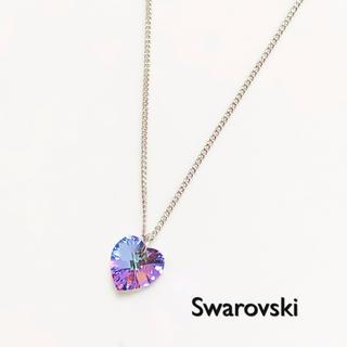 スワロフスキー(SWAROVSKI)のスワロフスキーネックレス♡ヴィトレルライトハート(ネックレス)
