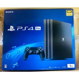 PlayStation4 - ☆新品☆ PS4 Pro ジェット・ブラック 1TB CUH-7200BB01