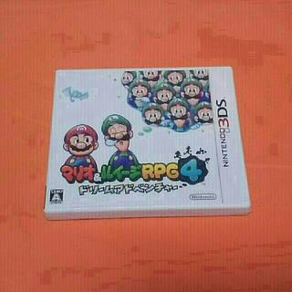 ニンテンドー3DS(ニンテンドー3DS)のニンテンドー3DSソフト[マリオ&ルイージRPG4ドリームアドベンチャー](携帯用ゲームソフト)