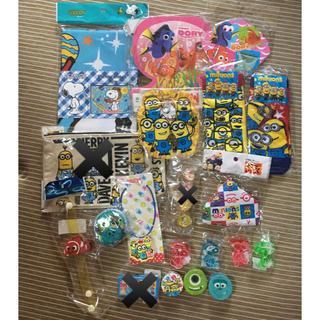 ディズニー(Disney)のディズニー スヌーピー サンリオ セット 雑貨 おもちゃ 日用品 生活(キャラクターグッズ)