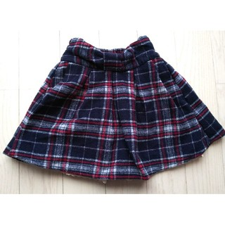 スニップスナップ(Snip Snap)の110★snipsnap★暖かパンツインスカート★新品★(スカート)
