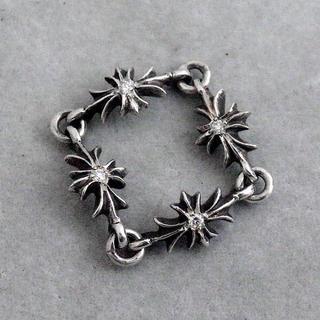 クロムハーツ(Chrome Hearts)のクロムハーツ タイニーリング CHプラス ダイヤモンド(リング(指輪))