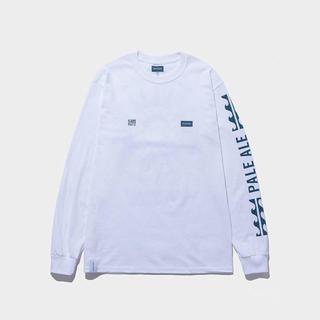 DESCENDANT PALE ALE LONG SLEEVE TEE [白2](Tシャツ/カットソー(七分/長袖))