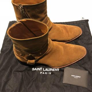 サンローラン(Saint Laurent)のsaint laurent サンローラン リングブーツ 41 GUCCI(ブーツ)