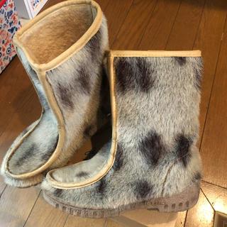 サンタモニカ(Santa Monica)の古着屋購入♡ファーブーツ(ブーツ)