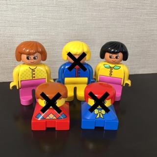 レゴ(Lego)のレゴ  デュプロ  レトロ  フィグ  女性  子供(積み木/ブロック)