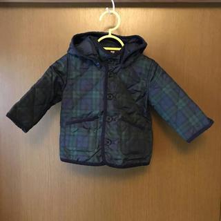MUJI (無印良品) - 無印 80cm 中綿 キルティング ジャンパー アウター コート