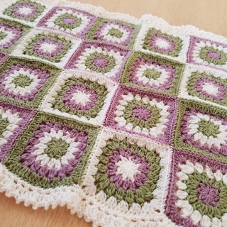 かぎ針編み モチーフカバー(その他)