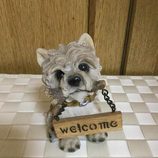 犬 ウエルカムボード(ウェルカムボード)