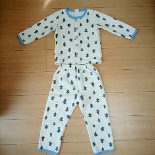 110cm☆ツリー柄の北欧風パジャマ(パジャマ)