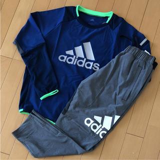アディダス(adidas)のadidas アディダス上下セット 150(その他)