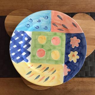 激安❗️アート皿 大皿 パスタ ビザ パーティに❗️