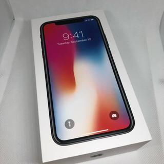 アップル(Apple)のiPhone X Space Gray 64 GB docomo(スマートフォン本体)