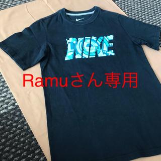 ナイキ(NIKE)のNIKEジュニアTシャツ 黒 サイズ140(Tシャツ/カットソー)