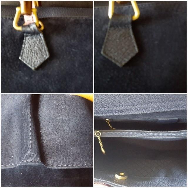 Gucci(グッチ)のグッチGUCCIバンブートート ネイビー レディースのバッグ(トートバッグ)の商品写真