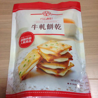 台湾ヌガークラッカーサンド(菓子/デザート)