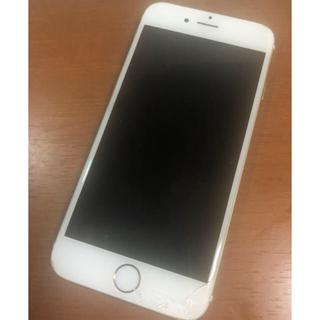 アップル(Apple)のiPhone 6 Gold 64 GB au (スマートフォン本体)