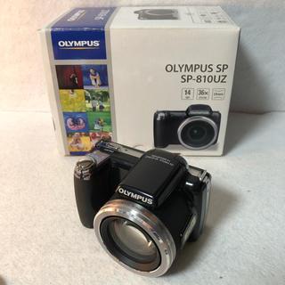 オリンパス(OLYMPUS)の【付属品完備】OLYMPUS デジタルカメラ SP-810UZ ブラック(コンパクトデジタルカメラ)