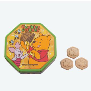 クマノプーサン(くまのプーさん)のディズニー お菓子 くまのプーさん はちみつ付き クッキー缶(菓子/デザート)