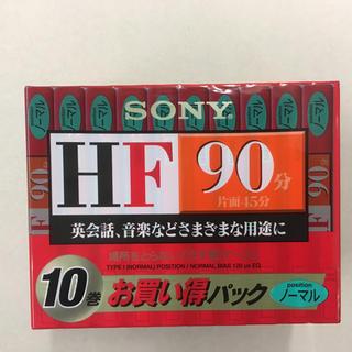 ソニー(SONY)のSONY カセットテープ90分×10本(その他)