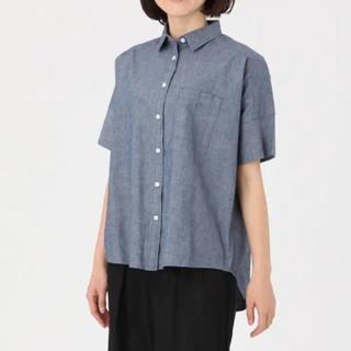 ムジルシリョウヒン(MUJI (無印良品))の無印良品 ワイド半袖シャツ 新品(シャツ/ブラウス(半袖/袖なし))