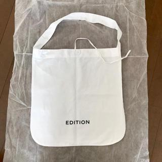 エディション(Edition)のエディション Edition ショップバッグ ショッパー(ショップ袋)