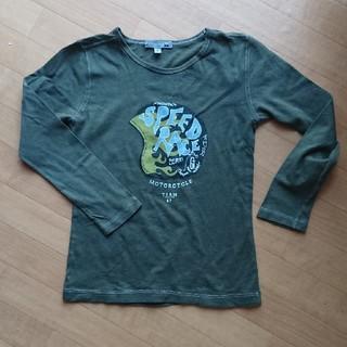 ボンポワン(Bonpoint)のBonpoint 6サイズ 緑カーキ色薄手カットソー(Tシャツ/カットソー)