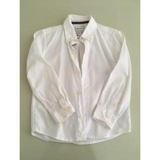 ザラキッズ(ZARA KIDS)のボタンダウンシャツ (ブラウス)