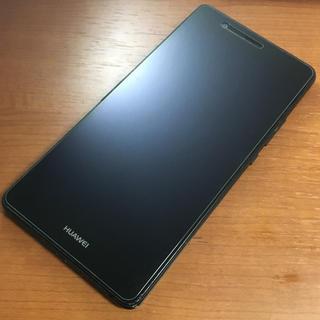 アンドロイド(ANDROID)のHUAWEI P9 lite Black 16 GB SIMフリー(スマートフォン本体)