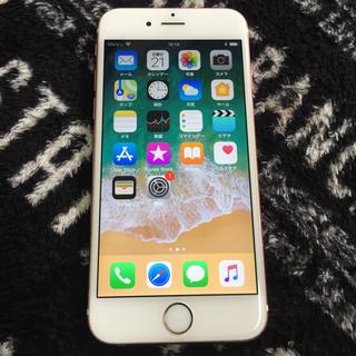 アップル(Apple)のiPhone 6s Rose Gold 64 GB SIMフリー(スマートフォン本体)
