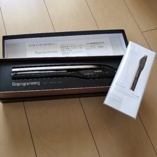 リュミエールブラン(Lumiere Blanc)の新品 保証付きリュミエリーナ   ヘアビューロンストレート4D Plus  (ヘアアイロン)