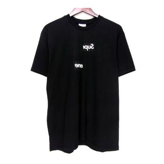 シュプリーム(Supreme)のシュプリーム×コムデギャルソン■18AWスプリットボックスロゴTシャツ(Tシャツ/カットソー(半袖/袖なし))
